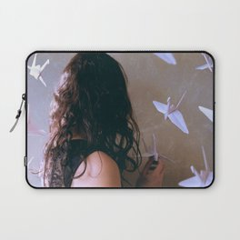 one thousand paper cranes Laptop Sleeve