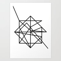 the wire Art Prints featuring Wire by FLATOWL