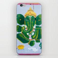 Pan Leaf Ganesh iPhone & iPod Skin