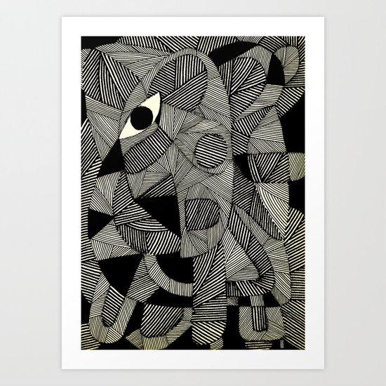 - fall west - Art Print