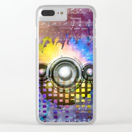 Music DJ Trance Clear iPhone Case