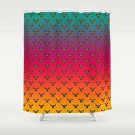 Jello Moose Shower Curtain