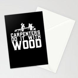 Carpenter  Design for a craftsman Stationery Cards