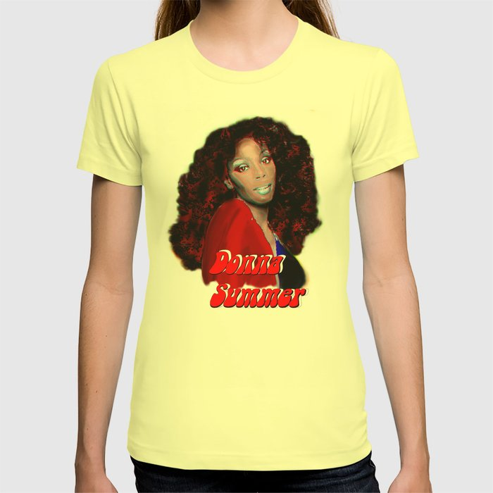 a53a913349c Donna Summer T-shirt by jtdigitalart