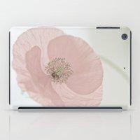 poppy iPad Cases featuring Poppy by Maria Heyens