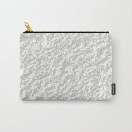 Silver Texture Carry-All Pouch