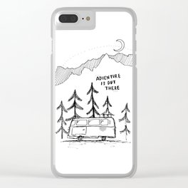 Adventure is Out There Clear iPhone Case