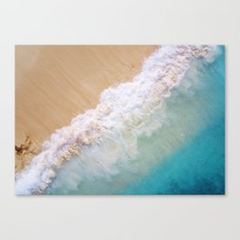 Dream Beach wave Canvas Print