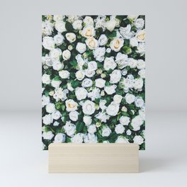 White Roses Mini Art Print