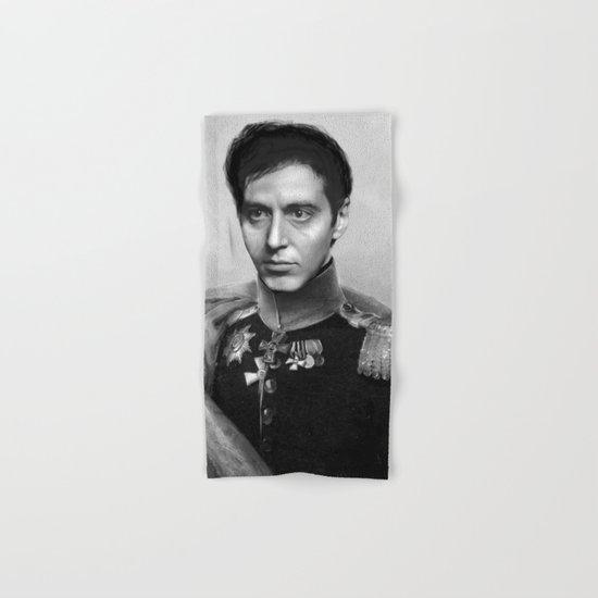 Al Pacino Scar Face General Portrait Painting   Fan Art by steelartstudios