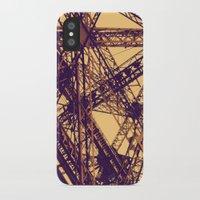 eiffel iPhone & iPod Cases featuring Eiffel by adrianperive