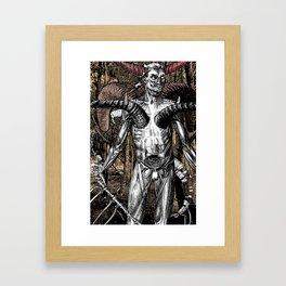 Motives - Vertical Version 2  - 2011 Framed Art Print