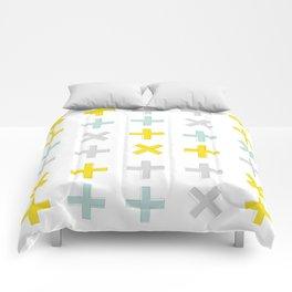 Positive Vibes - Yellow Comforters
