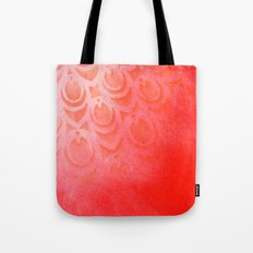 Feathering Red Tote Bag