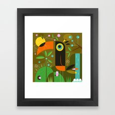 The toucan Framed Art Print