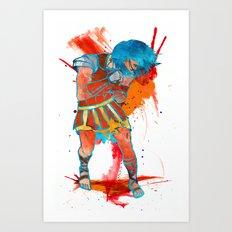 No Gladius Art Print
