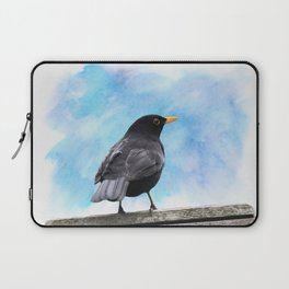 The whistling of the blackbird Laptop Sleeve