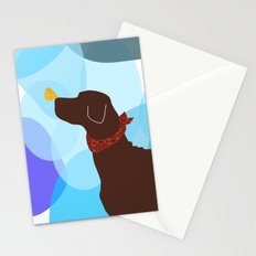 Brown Labrador Retriever Stationery Cards