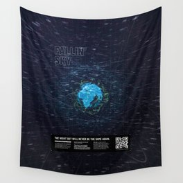 Augmented Reality - World Wall Tapestry