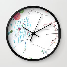 Secret Place Number 552 Wall Clock