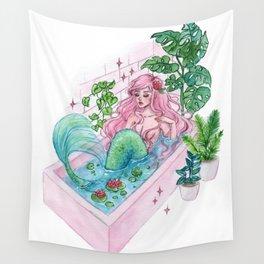 Bathub Wall Tapestry
