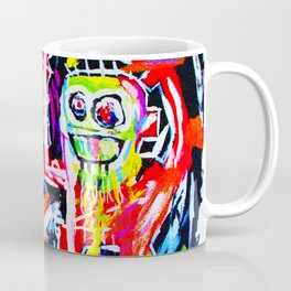 Basquiat's Dustheads Coffee Mug