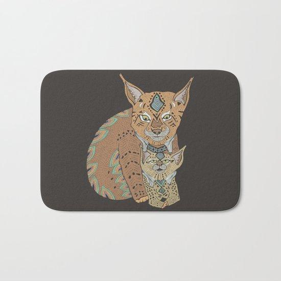 Wild Cats Love II Bath Mat
