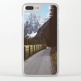 Let's hike together - Landscape and Nature Photography Clear iPhone Case