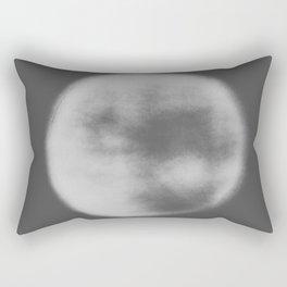 black and white orb Rectangular Pillow