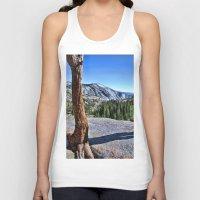 yosemite Tank Tops featuring Yosemite park by Claude Gariepy