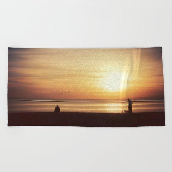 suMMer mOOd - beach sunset Beach Towel