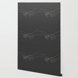 Grey Pinky Swear Wallpaper