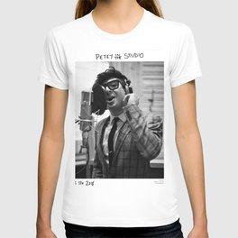Birds in the Boneyard, Print Three: Petey in the Studio T-shirt
