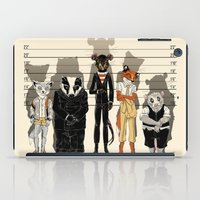 returns iPad Cases featuring Unusual Suspects by castlepöp