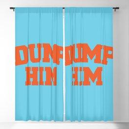 Dump Him Blackout Curtain