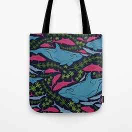 Underwater Pattern #5 Tote Bag