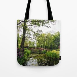 Canal in Giethoorn Village Tote Bag