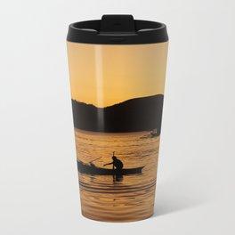 Tranquil Coron Metal Travel Mug