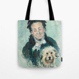 Claude Monet - La Mère Paul (Eugénie Graff) Tote Bag