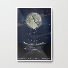 "Coldplay ""Magic"" conceptual poster Metal Print"