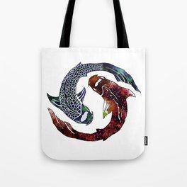 Yin Yang Part 2 Tote Bag
