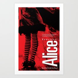 Remember Alice Art Print