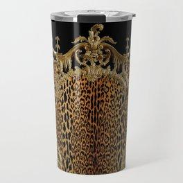Leopard Chinoise Travel Mug