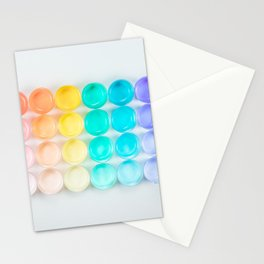 Colorful Paint Stationery Cards