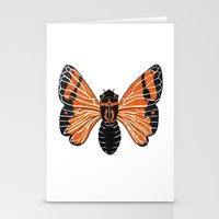 moth Stationery Cards featuring Moth by Eric Weiand