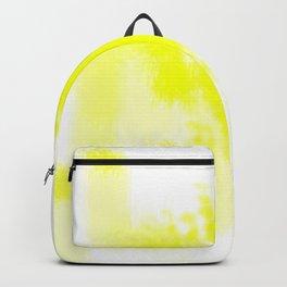 I feel yellow Backpack