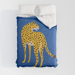 The Stare 2: Golden Cheetah Edition Comforters