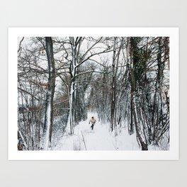 Run & Explore Art Print
