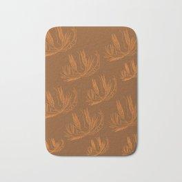 DESIGN EXOTIC GOLD WEEDS Bath Mat