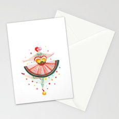 Acrobat Gum Stationery Cards